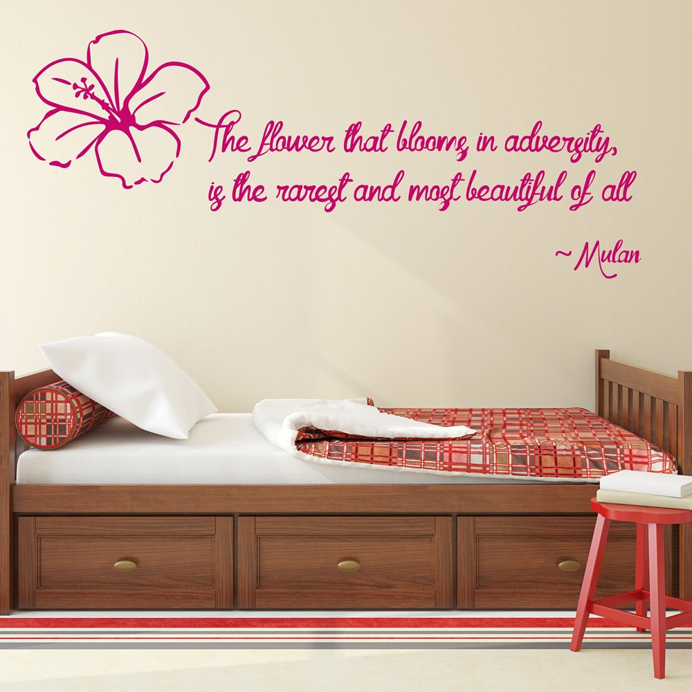 Mulan Wall Sticker Quote Wall Art