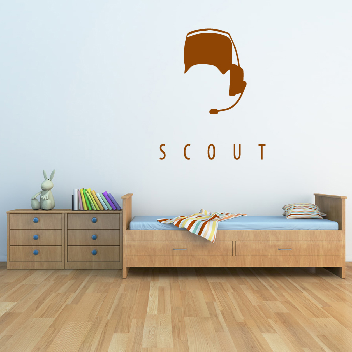 Scout Team Fortress 2 Gaming & Entertainment Wall Stickers Home Art Decals