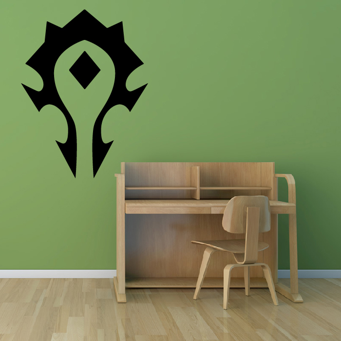 Horde World Of Warcraft Gaming & Entertainment Wall Stickers Home Art Decals