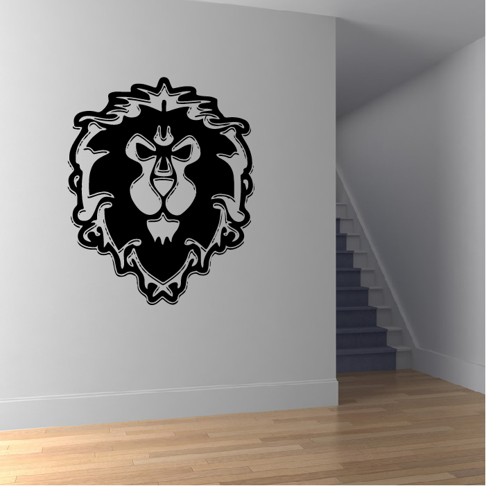 Alliance World Of Warcraft Gaming & Entertainment Wall Stickers Home Art Decals