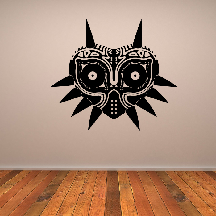 Majoras Mask Zelda Gaming & Entertainment Wall Stickers Home Art Decals