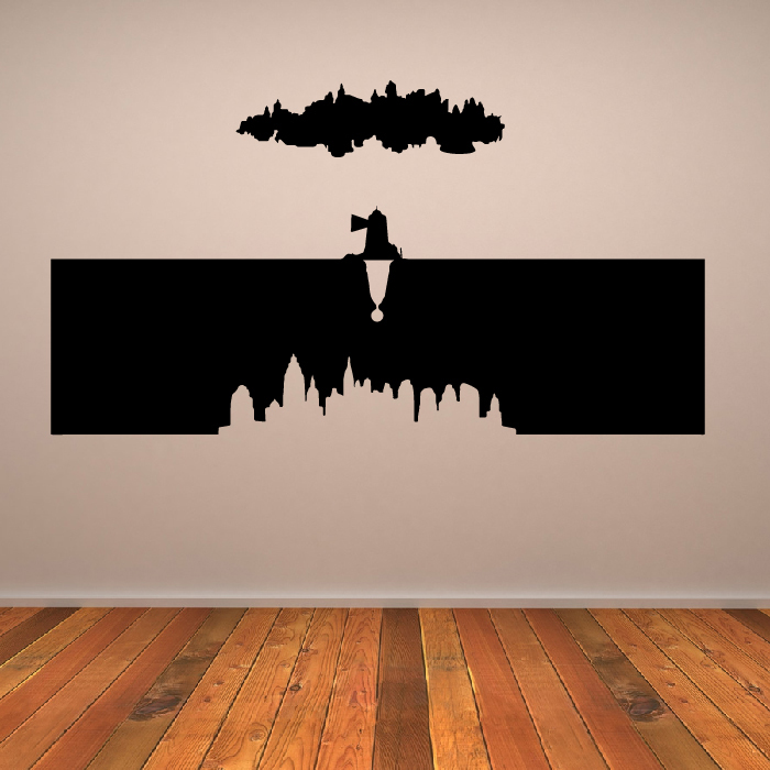 Bioshock Worlds Video Game Gaming & Entertainment Wall Stickers Home Art Decals