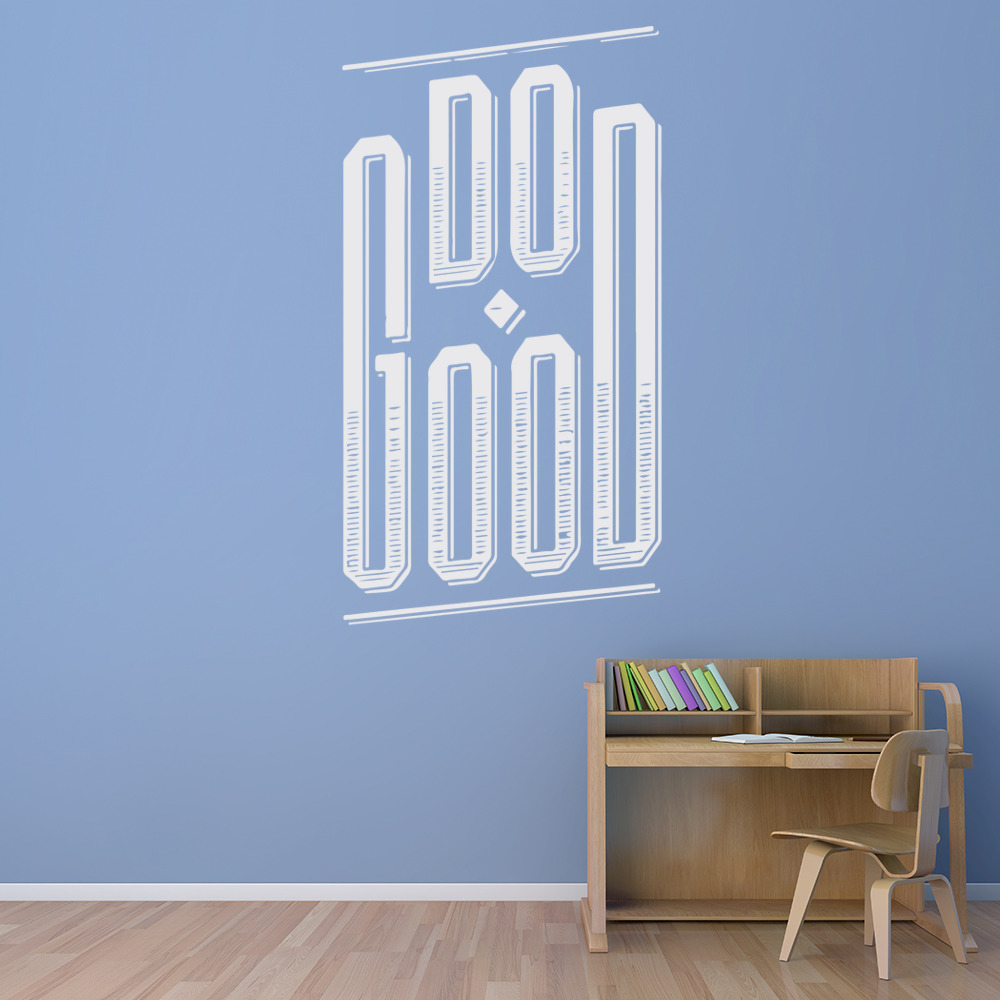 Do Good Life And Inspirational Quote Wall Stickers Home Decor Art Decals