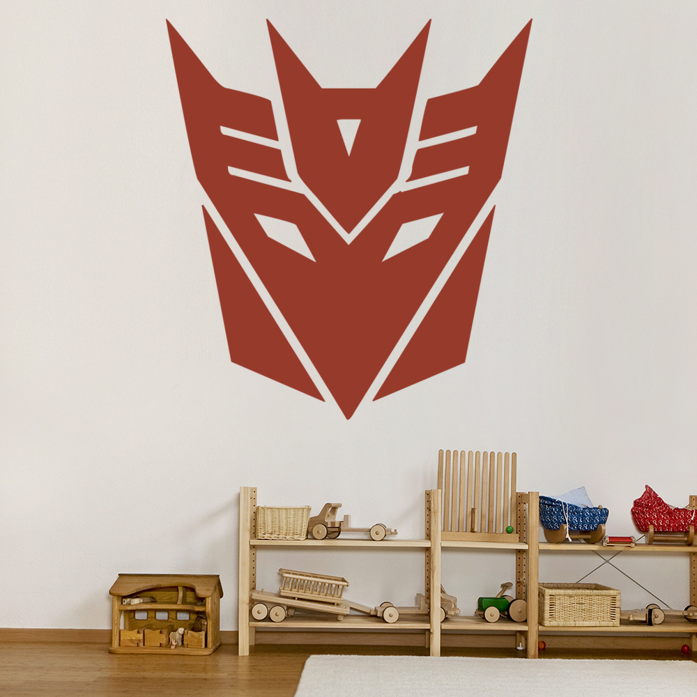 superhero wall stickers iconwallstickers co uk transformers deception wall sticker wall art
