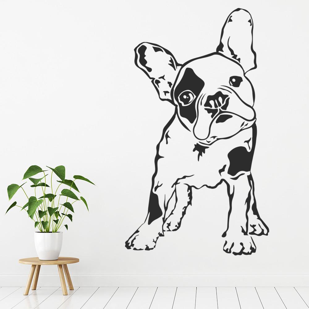 French Bulldog Profile Wall Sticker Dog Wall Art