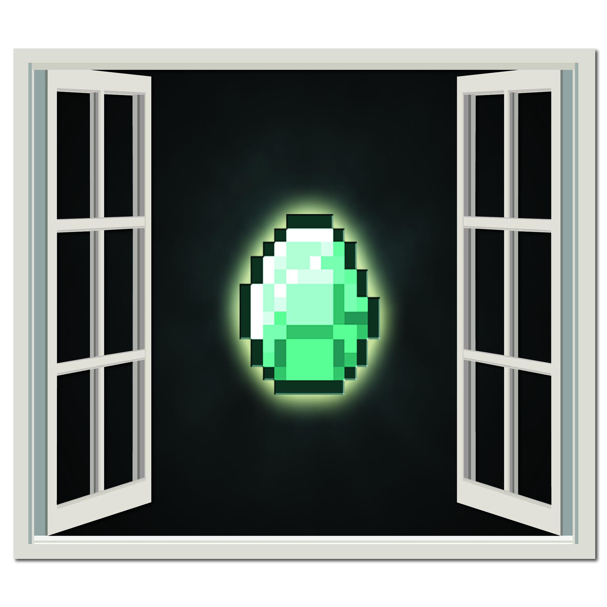Minecraft Diamond Wall Sticker Minecraft Wall Art