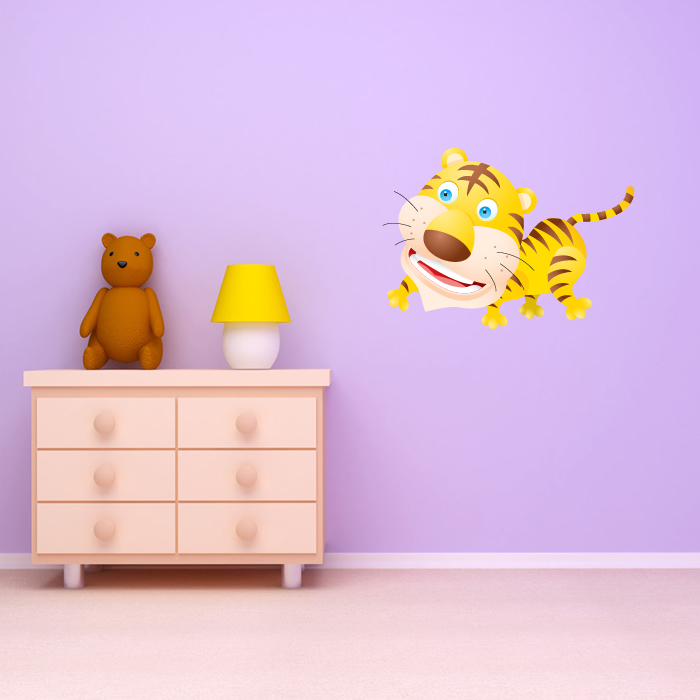 Roaring Tiger Digital Wall Sticker