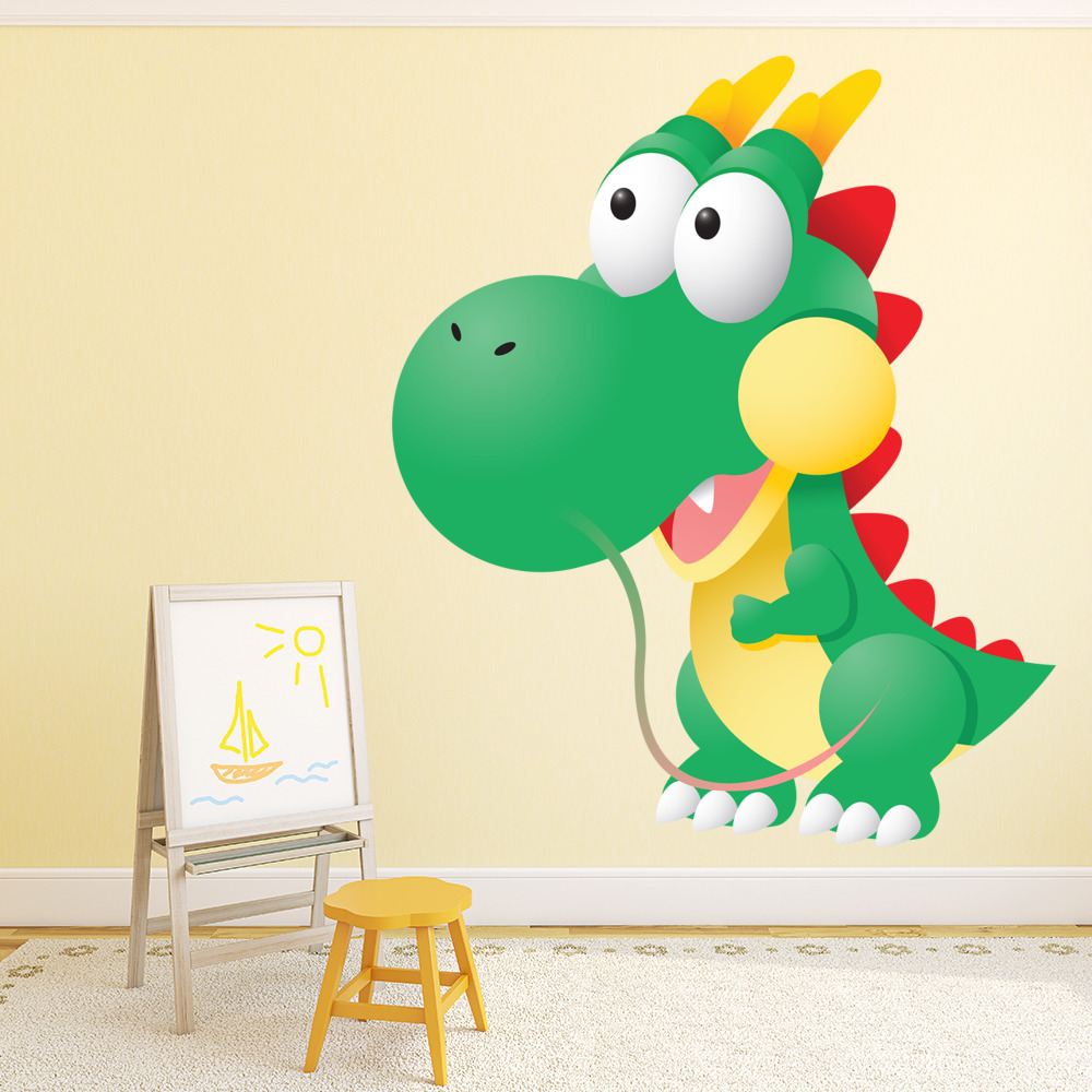 Chinese Dragon Digital Wall Sticker