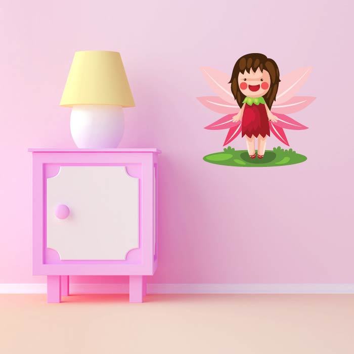 Fairy Leaf Wings Digital Wall Sticker