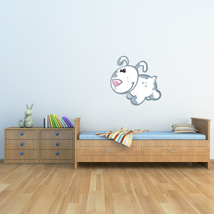 Cute Baby Puppy Digital Wall Sticker