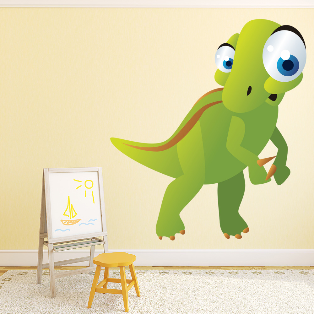 Baby Velociraptor Digital Wall Sticker