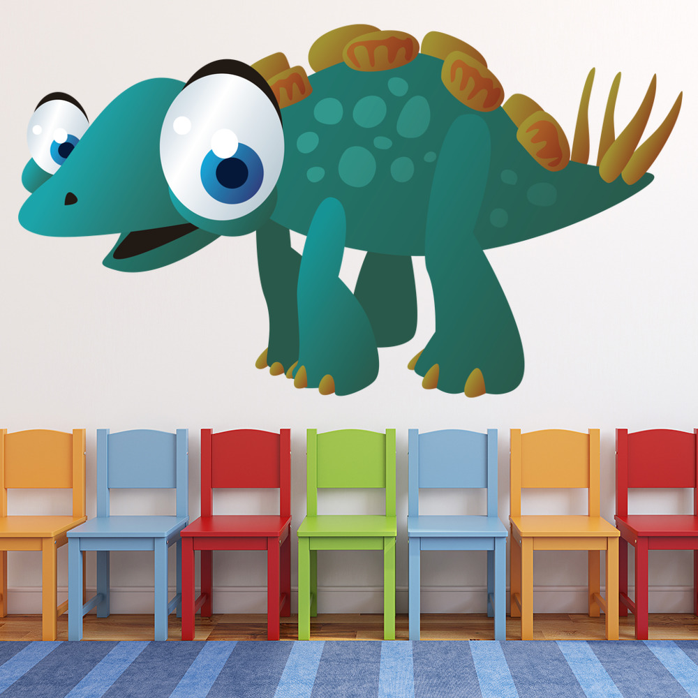 Baby Dinosaur Digital Wall Sticker