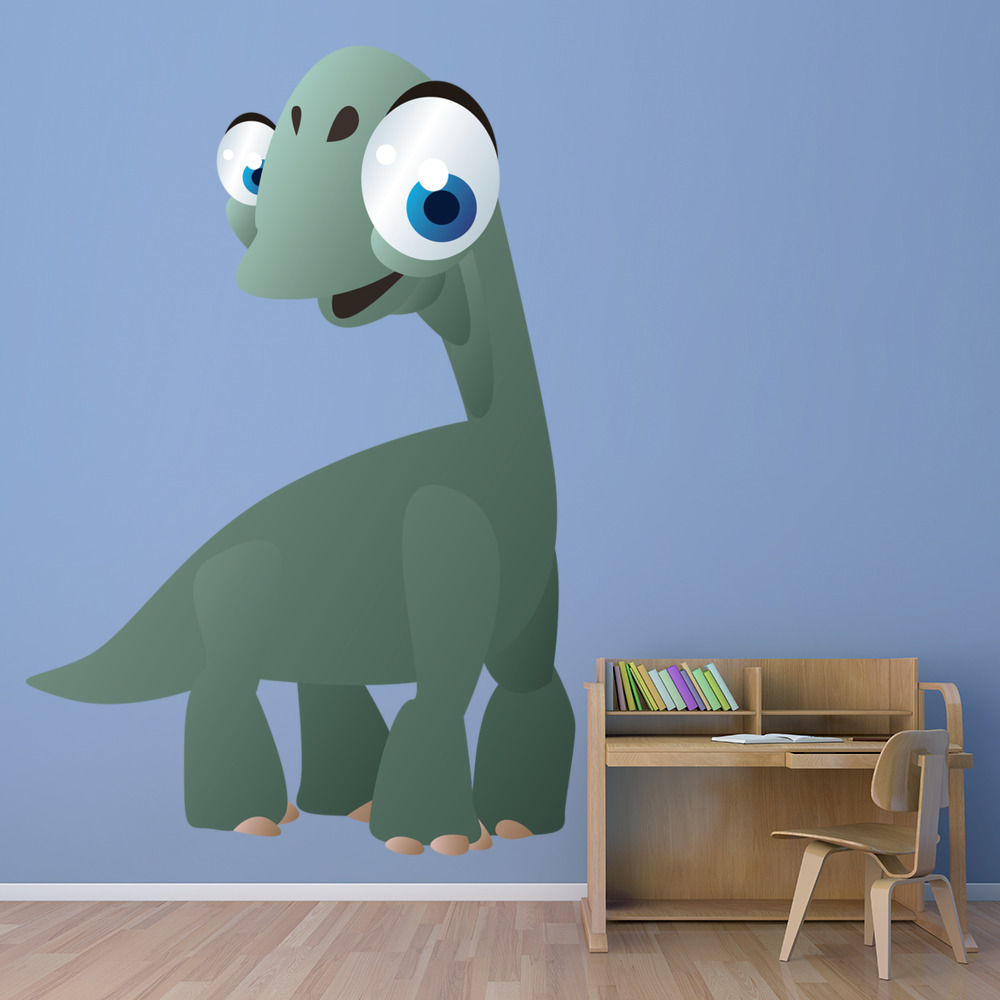 Baby Brontosaurus Digital Wall Sticker