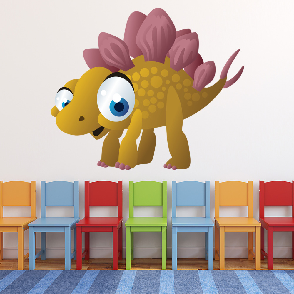 Baby Stegosaurus Digital Wall Sticker