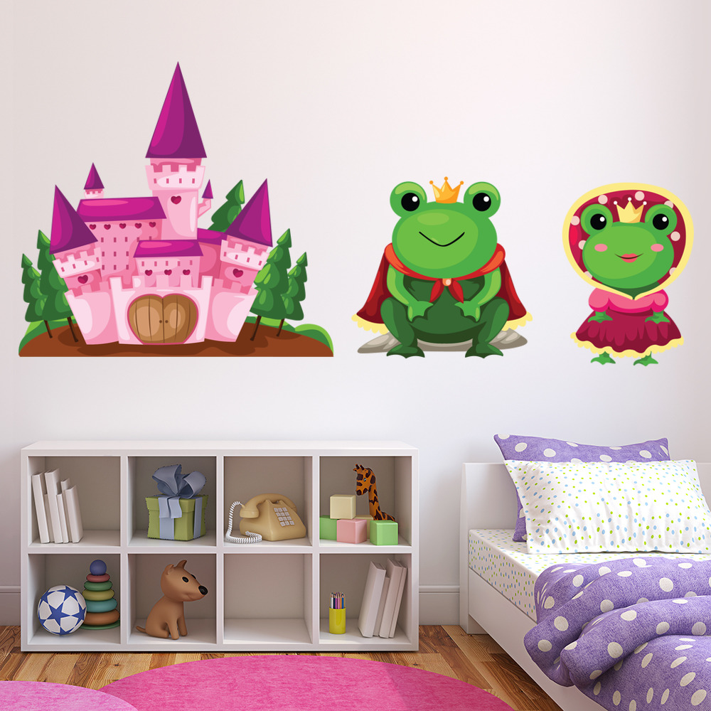 Frog Princess Digital Wall Sticker
