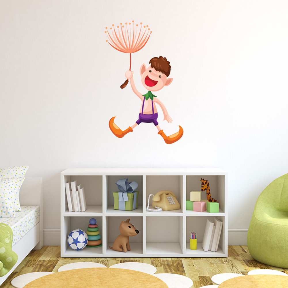 Dandelion Elf Digital Wall Sticker