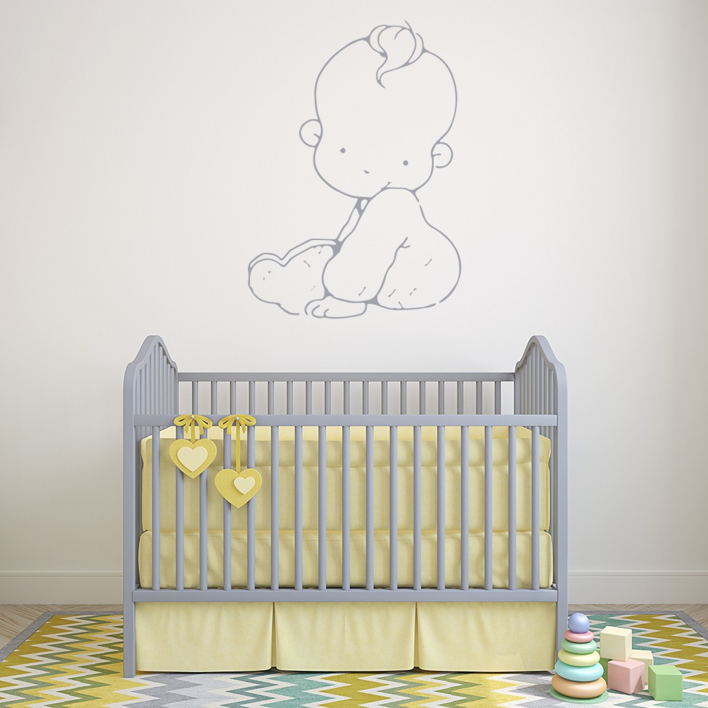 Baby Wall Sticker Cartoon Wall Art
