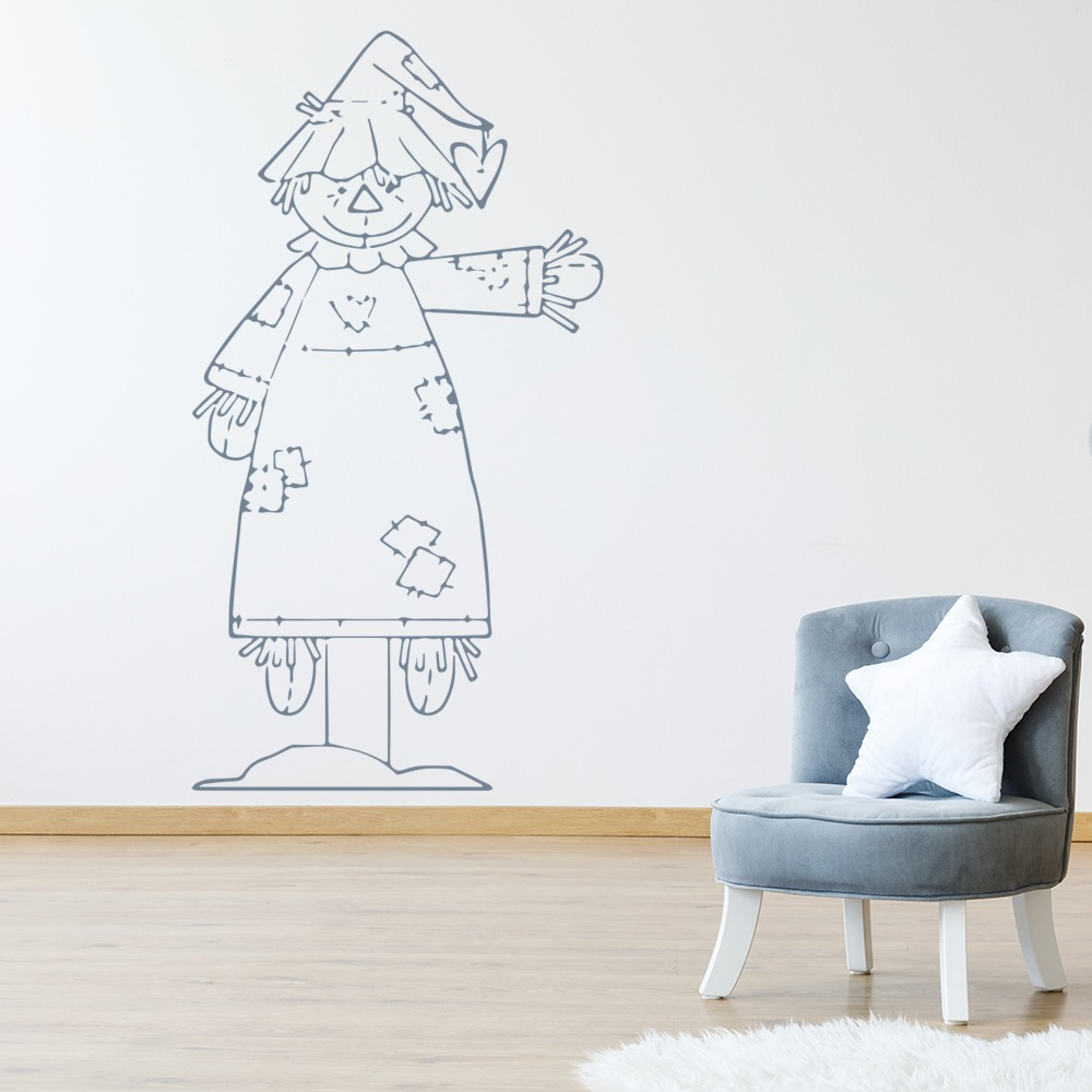 Scarecrow Wall Sticker Nursery Wall Art