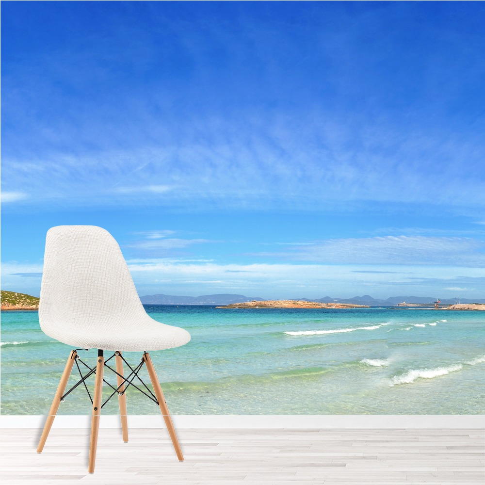 Formentera Island Spanish Sea Beach & Ocean Wall Mural Landscape Photo Wallpaper