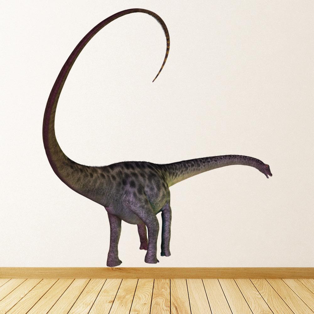 Brontosaurus Dinosaur Wall Sticker Boys Room Jurassic Decal Kids Bedroom Decor