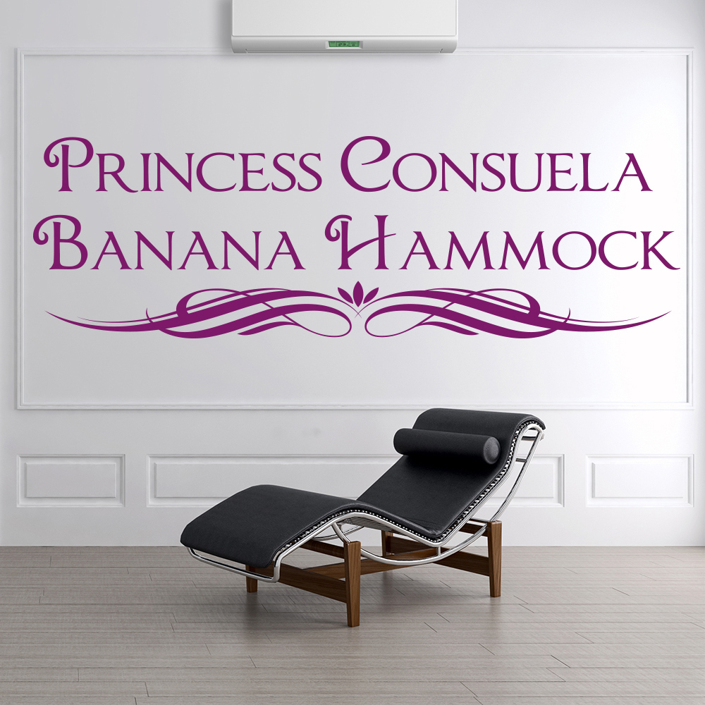Princess Consuela Banana Hammock Friends TV & Film Wall Stickers Home Art Decals