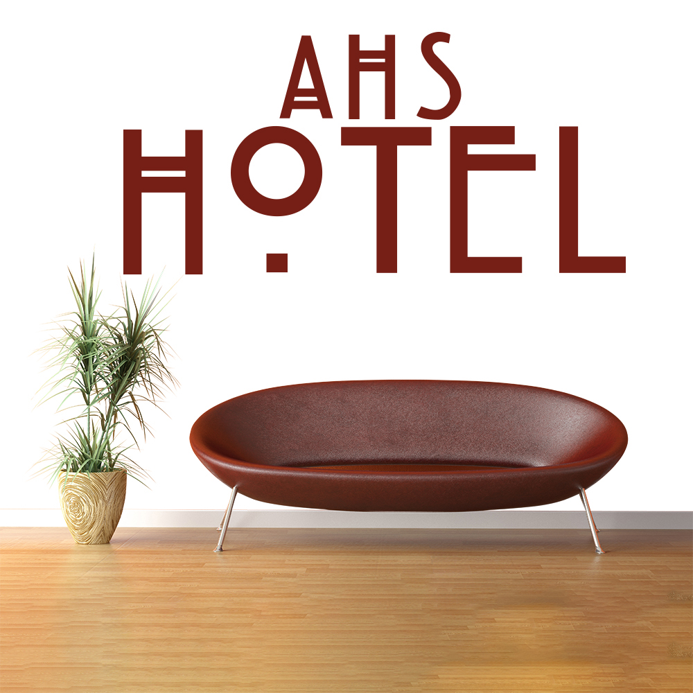 American Horror Story Hotel US American TV & Film Wall Stickers Home Art Decals