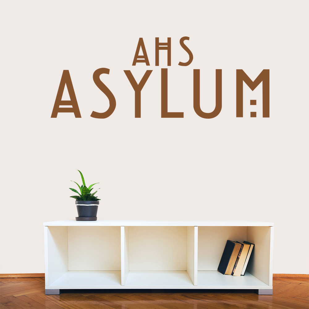 Tv movie wall stickers for American horror story wall mural