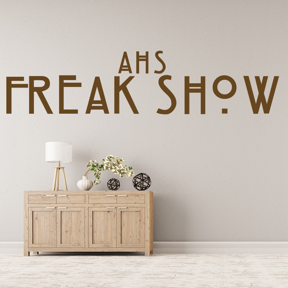 American Horror Story Freak Show US American TV & Film Wall Stickers Home Decals
