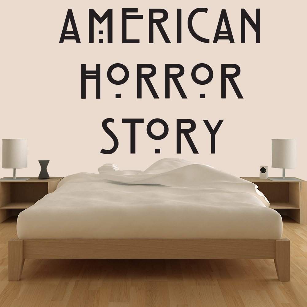 American Horror Story Logo US American TV & Film Wall Stickers Home Art Decals