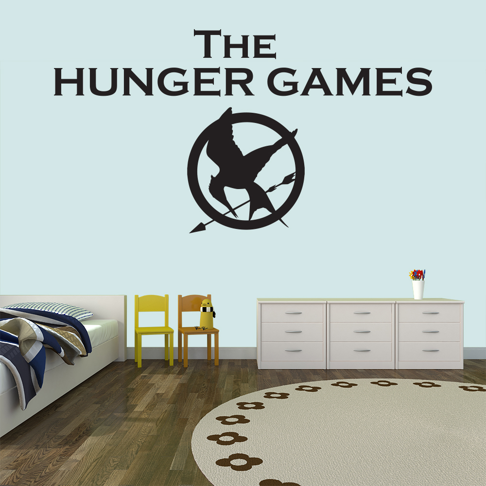 Mockingjay Logo The Hunger Games TV & Film Wall Stickers Kids Home Art Decals