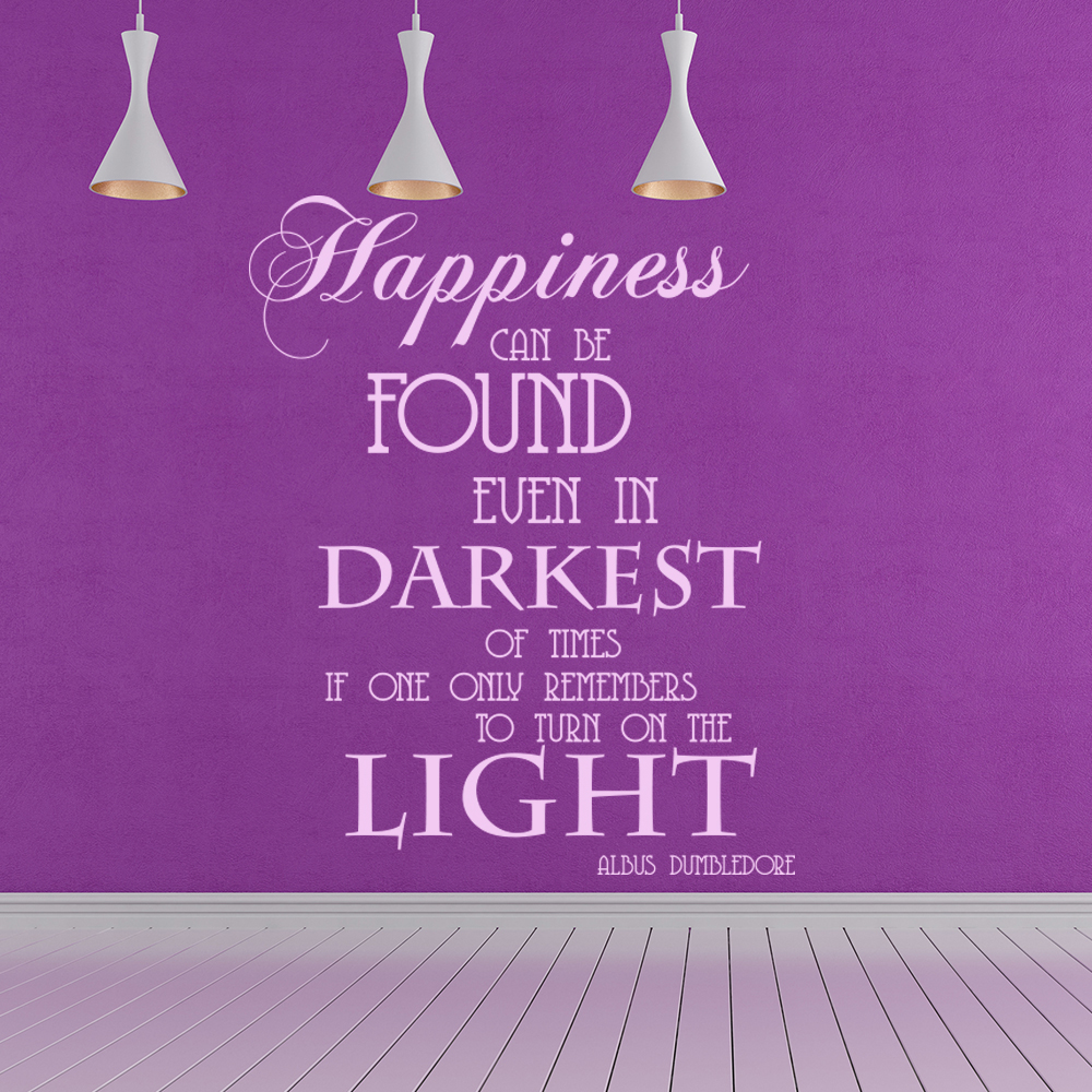 Albus Dumbledore Quote Harry Potter TV & Film Wall Stickers kids Decals