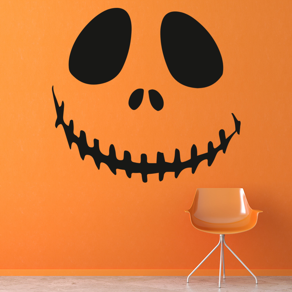 Nightmare Before Christmas Jack Skeleton TV & Film Wall Stickers Kids Art Decals