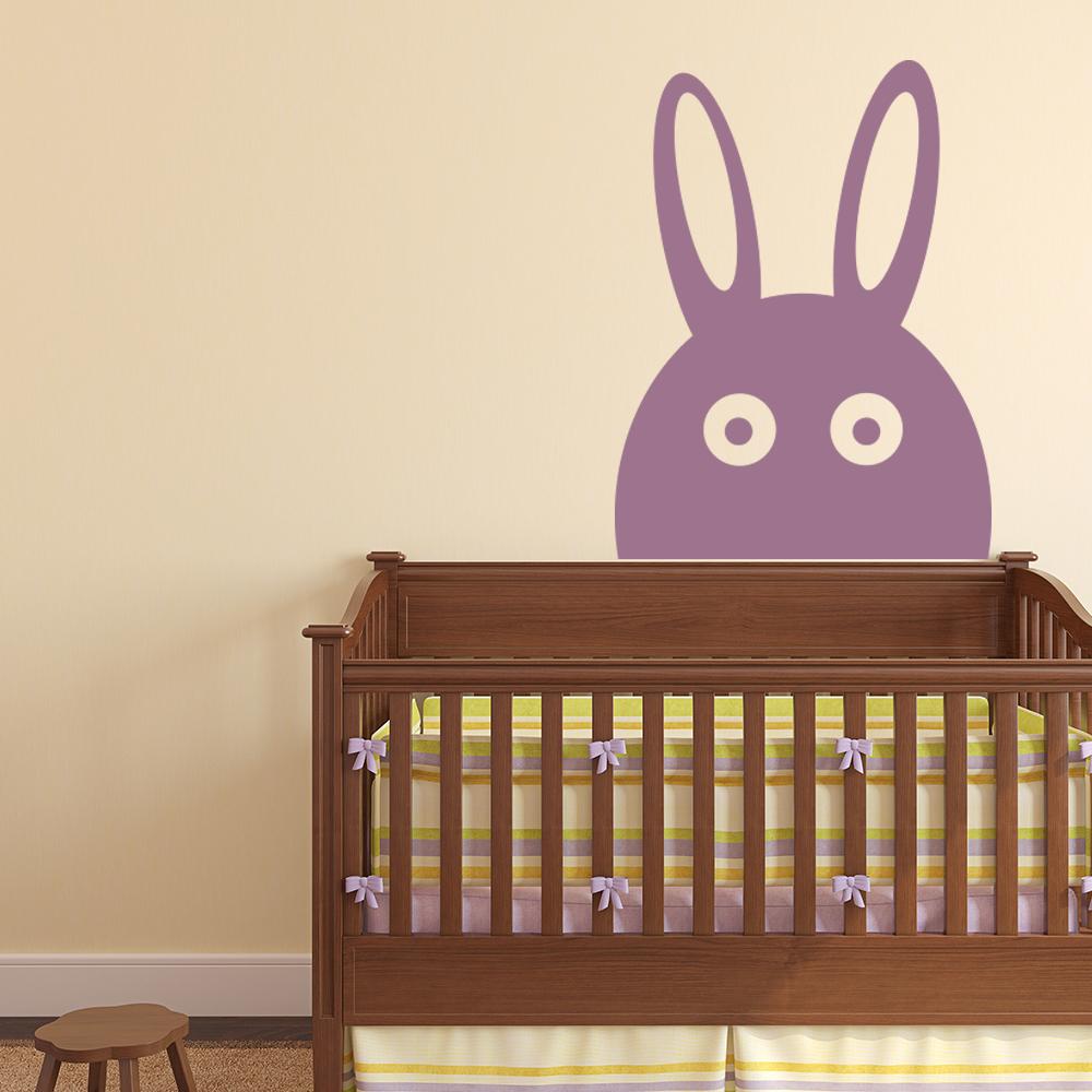 Rabbit Wall Sticker Childrens Animal Wall Decal Baby Nursery Home Decor