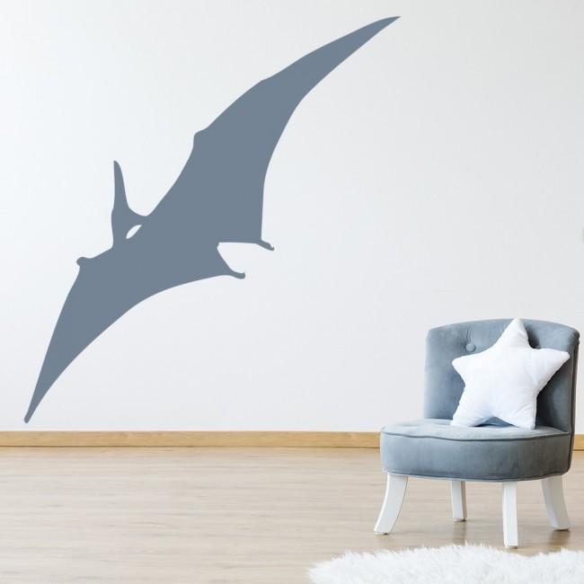 Pterodactyl Prehistoric Dinosaur Wall Sticker Childrens Bedroom Decor Art  Decals Part 59