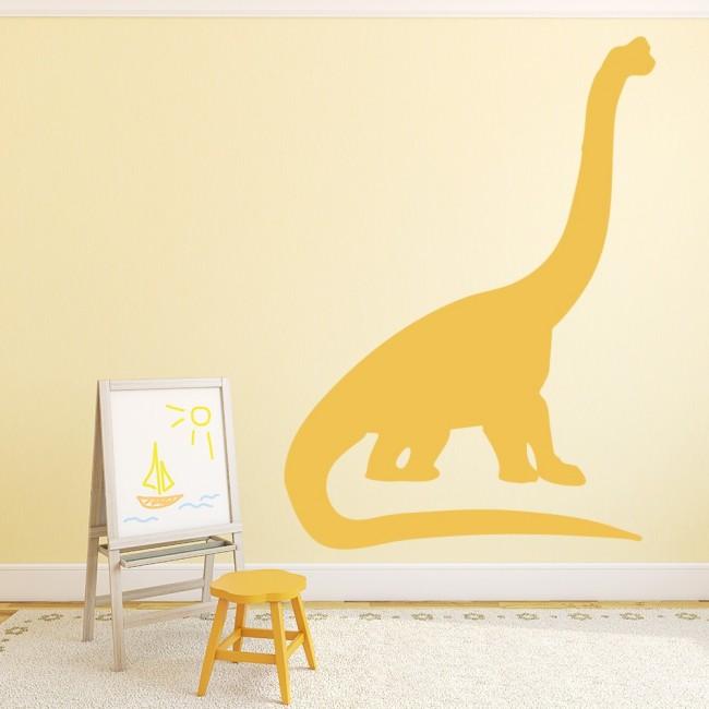 Brontosaurus Print Wall Sticker Dinosaur Wall Art