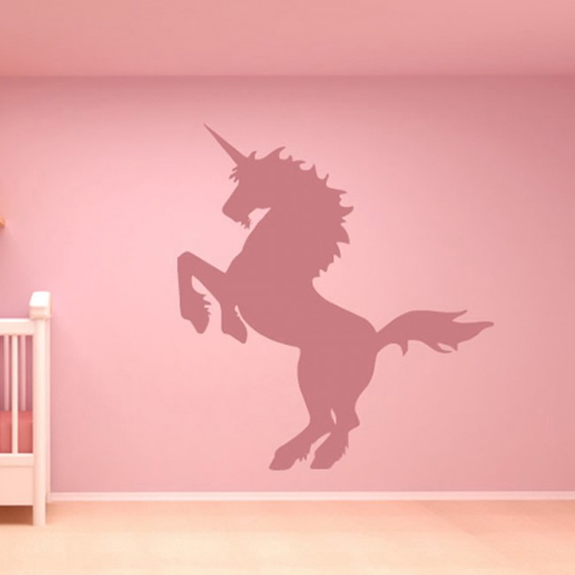 Rearing Unicorn Wall Sticker Fantasy Wall Art