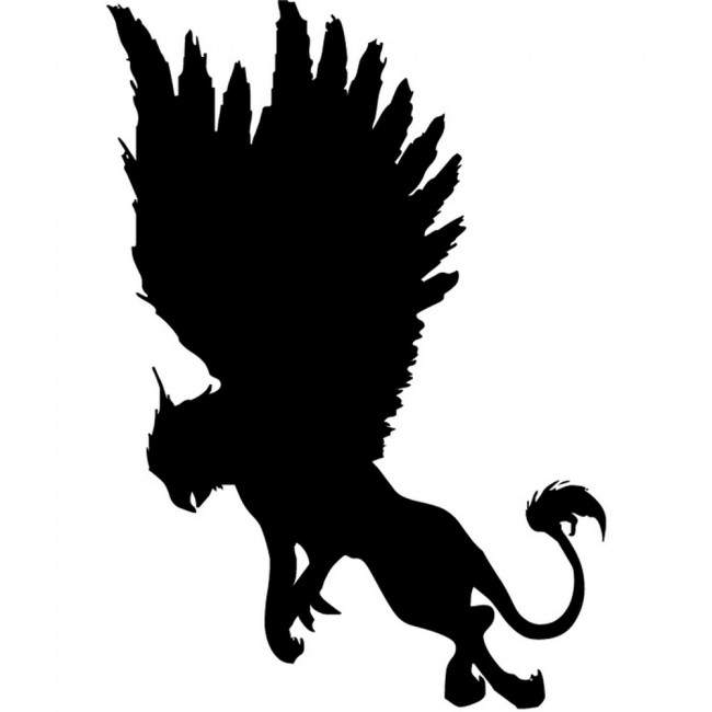 Griffon Wall Sticker Mythical Wall Art