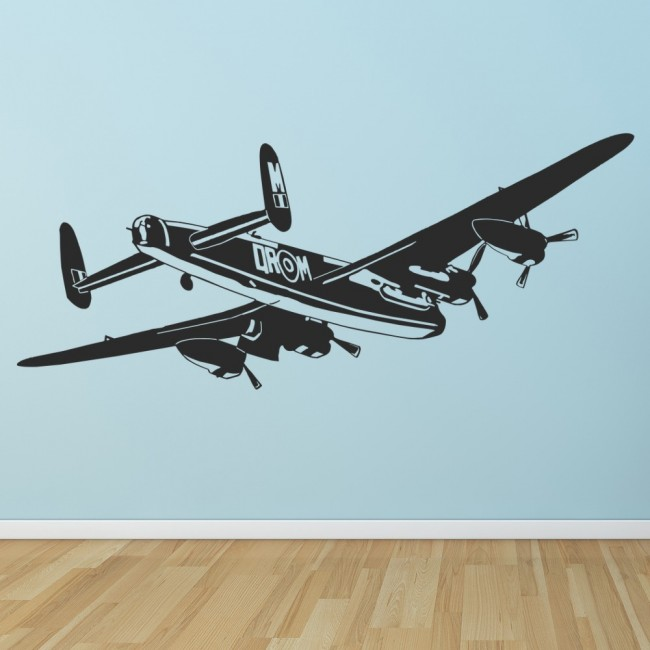 Bomber Aeroplane Wall Sticker Raf Fighter Airplane Wall