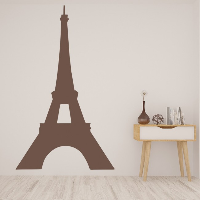 Eiffel Tower Paris Silhouette Rest Of The World Wall Stickers Home Art  Decals Part 88