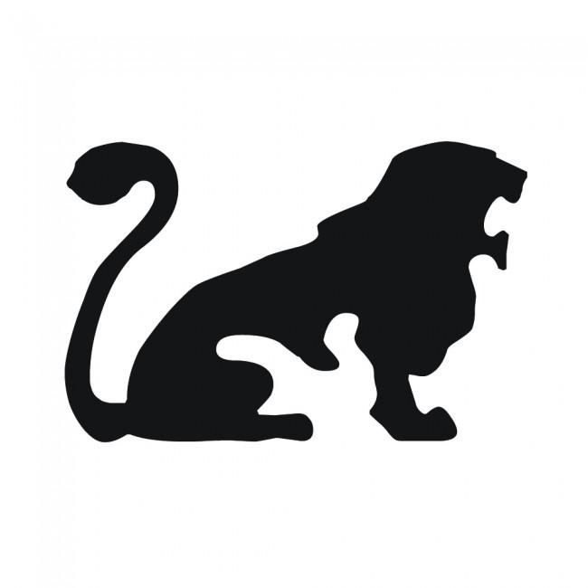 Zodiac Sign Wall Sticker Leo Lion Wall Decal Astrology