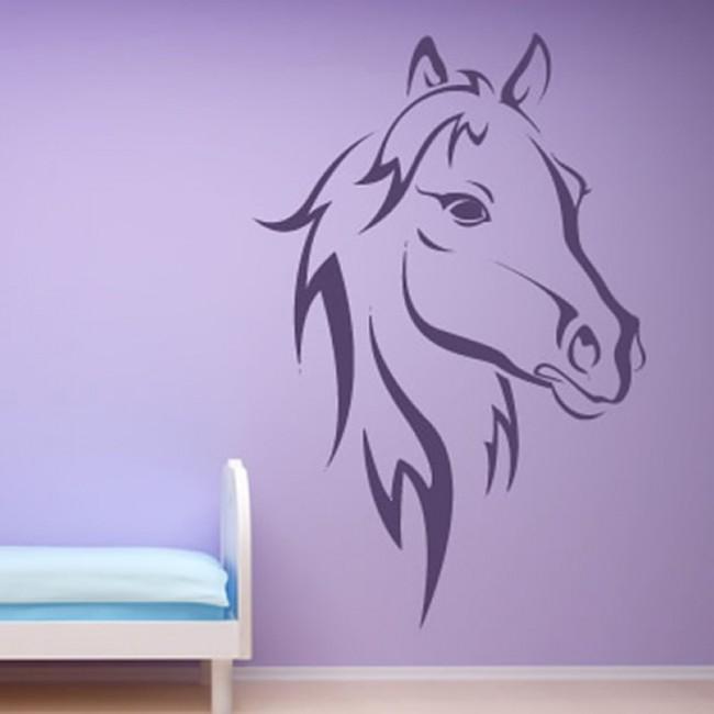 Horse Rearing Up Animal Wall Sticker Decal Transfer Home Design Matt Vinyl UK