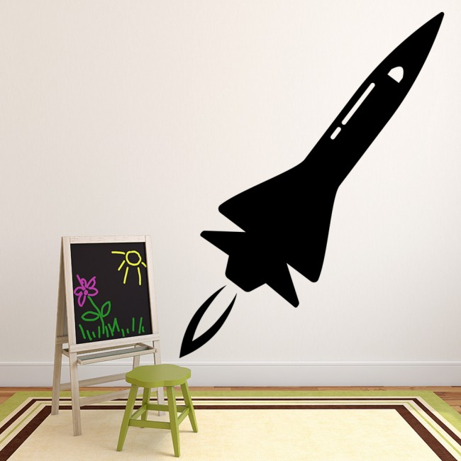 Space Rocket Wall Stickers Space Wall Art