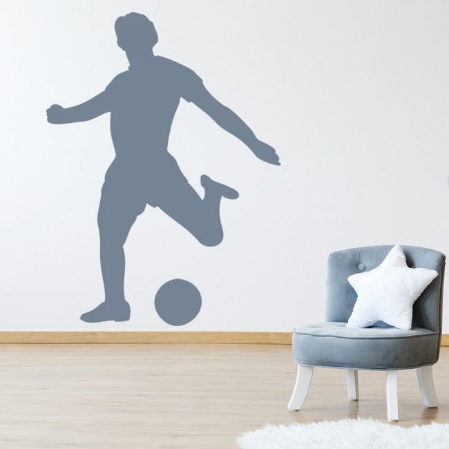 football striker wall stickers sports wall art