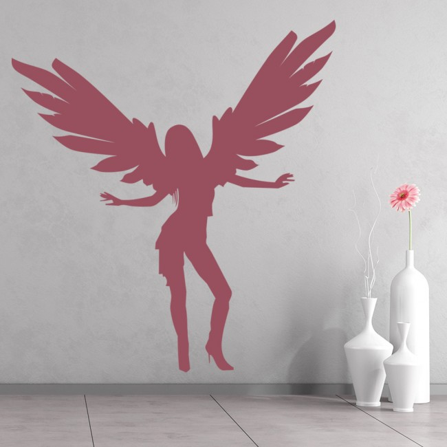 Dancing Angel Wall Sticker Angel Wall Art