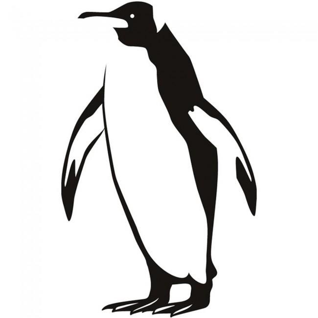 Penguin Wall Sticker Arctic Animals Wall Decal Bathroom