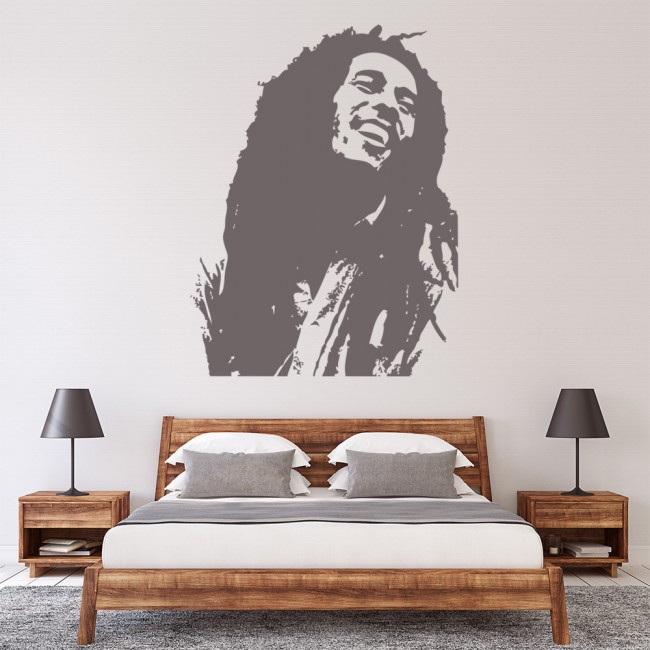 Bob Marley Wall Stickers Icon Wall Art