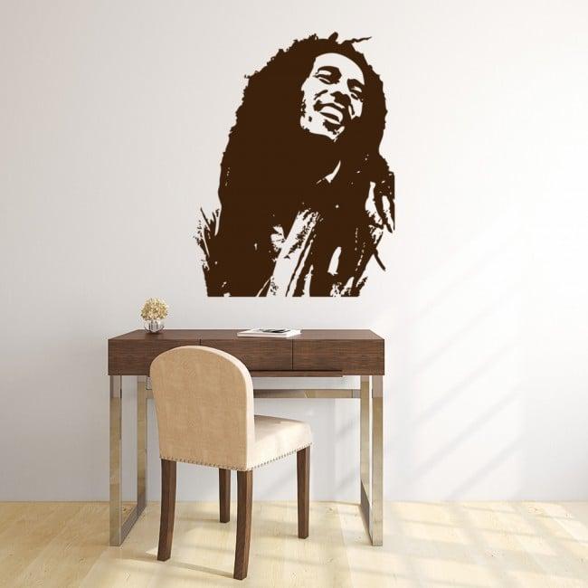 Bob Marley Wall Stickers Icon Wall Art