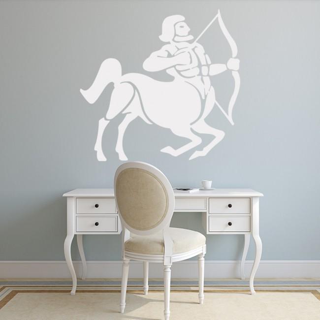 Sagittarius Wall Sticker Zodiac Sign Wall Decal Star Sign
