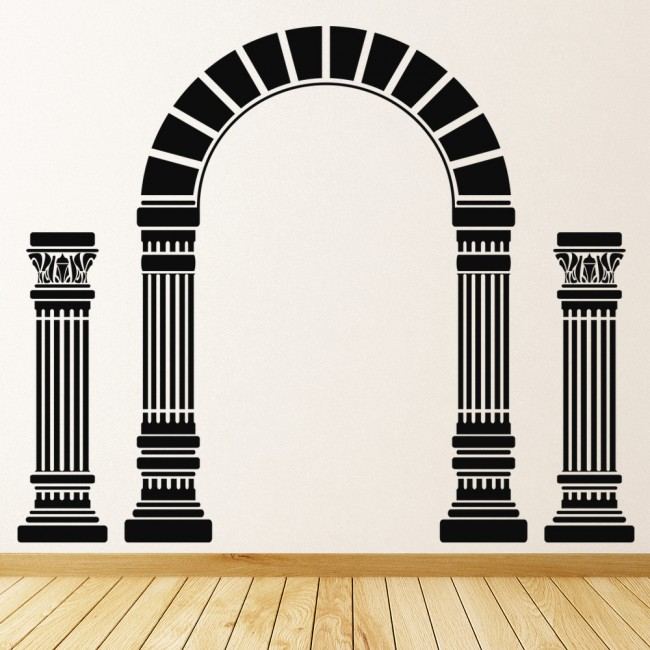 Greek Columns Ancient Greece Wall Sticker