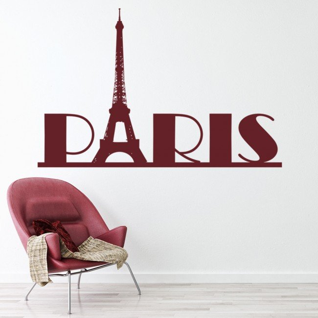 Merveilleux Paris Wall Sticker Eiffel Tower Wall Decal France Living Room Home Decor